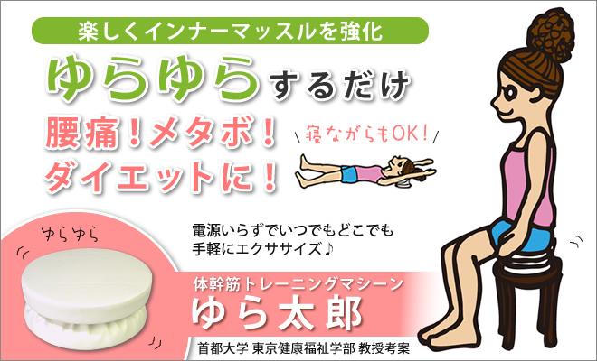 体幹筋トレーニングマシーン「ゆら太郎」