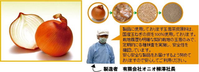 「玉ねぎの皮」 は、安心安全な契約栽培です。